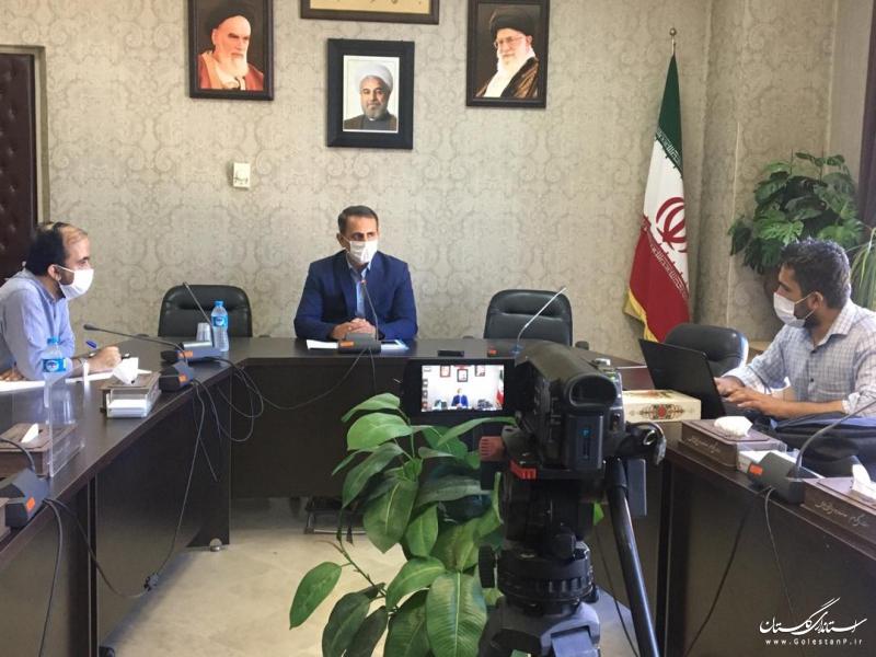 تبلیغات انتخابات یازدهمین دوره مجلس شورای اسلامی در حوزه غرب استان گلستان آغاز شد
