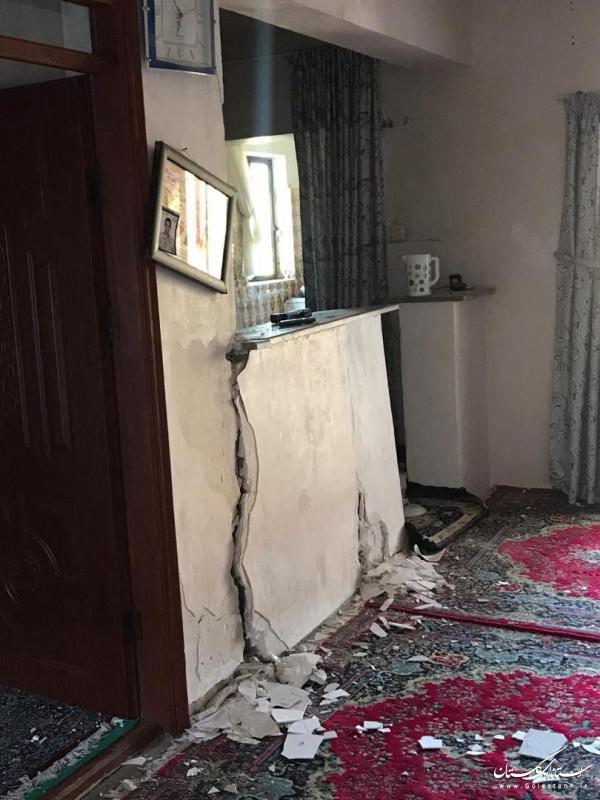 مصدومان زمینلرزه رامیان به مراکز درمانی منتقل شدند