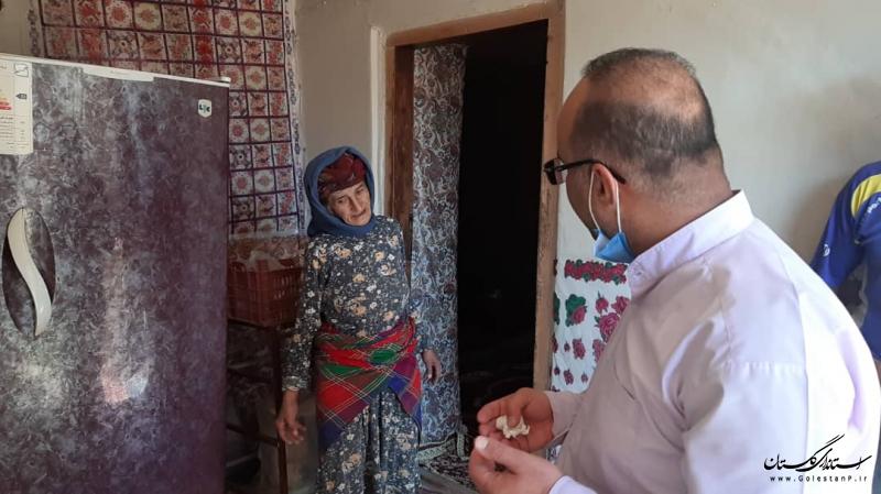 تمامی منازل روستاهای زلزله زده بخش مرکزی رامیان تحت پوشش بیمه حوادث بودند
