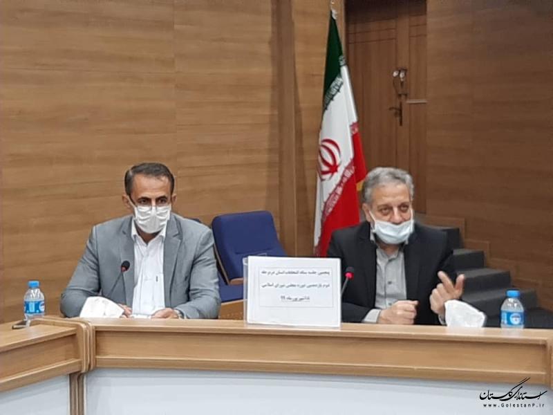 پنجمین جلسه ستاد انتخابات استان با محوریت بررسی آخرین تمهیدات برگزاری انتخابات برگزار شد