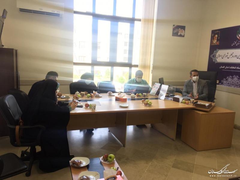 استان گلستان آماده برگزاری انتخاباتی پروشور و رقابتی و با رعایت الزامات بهداشتی می باشد