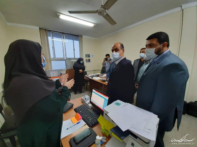 بازدید استاندار گلستان از ستاد انتخابات شهرستان کردکوی