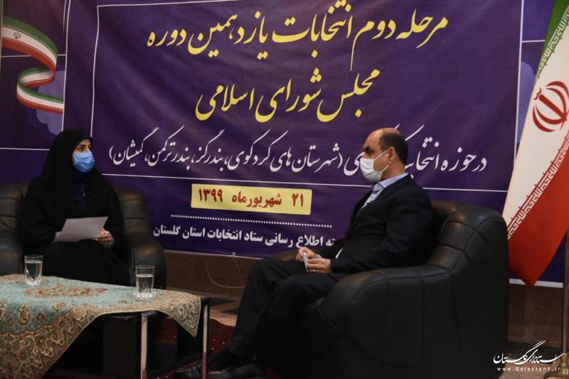فرآیند مرحله دوم انتخابات یازدهمین دوره مجلس شورای اسلامی در حوزه غرب استان پایان یافت