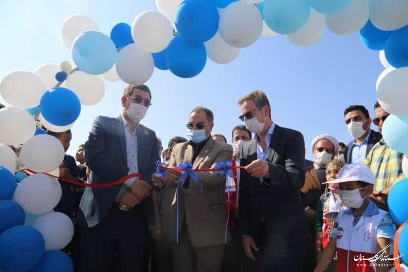 افتتاح ۴ پارک بازی در مناطق سیل زده گلستان با اعتباری بالغ بر ۱۰ میلیارد ریال