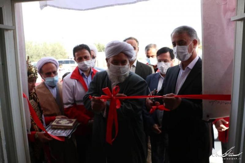 همزمان با سراسر کشور ۴۰ خانه هلال در گلستان افتتاح شد