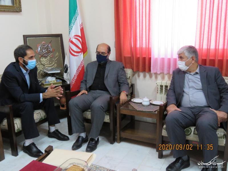 ظرفیت سدهای استان برای تامین آب صنعت/ سامانه انتقال و توزیع آب صنایع گلستان اجرائی می شود