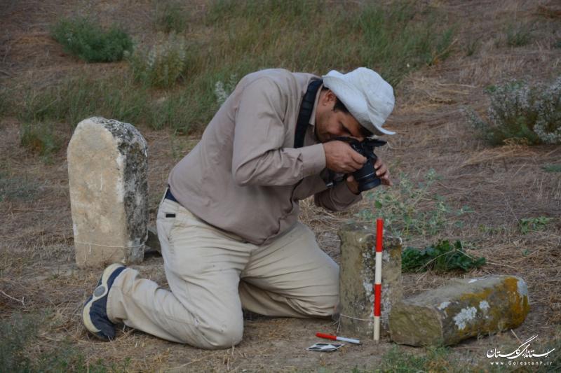 آغاز بررسی باستانشناسی گورستان تاریخی خالد نبی کلاله برای تعیین عرصه و حریم