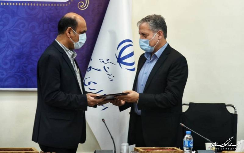 معاون سیاسی ، امنیتی و اجتماعی استاندار گلستان تودیع شد
