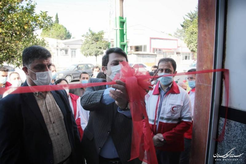 افتتاح بانک امانات پزشکی جمعیت هلال احمر در شهرستان بندرگز
