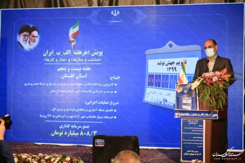 توسعه زیرساخت های انرژی گلستان منافع استان و کشور را تضمین می کند