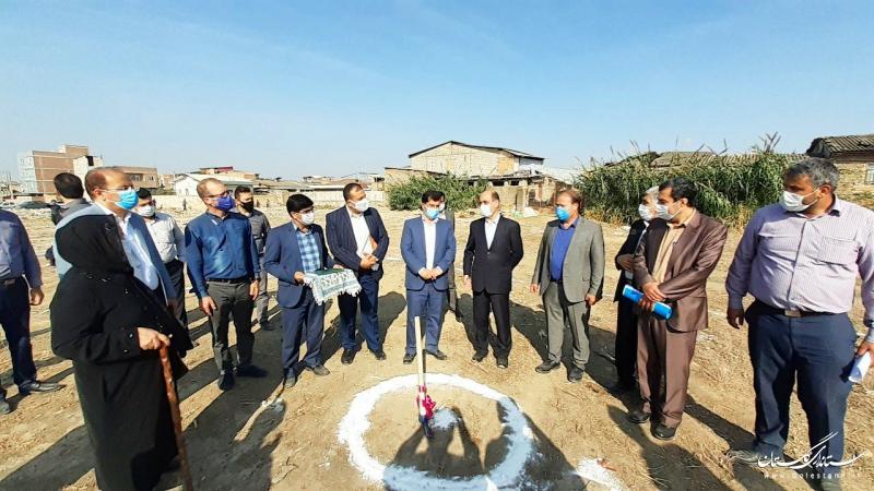 ساخت مسکن برای همه خصوصا محرومین مورد توجه دولت و خیرین است