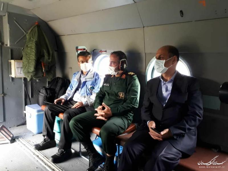 200 نیروی امدادی مشغول اطفای حریق جنگل های توسکستان هستند