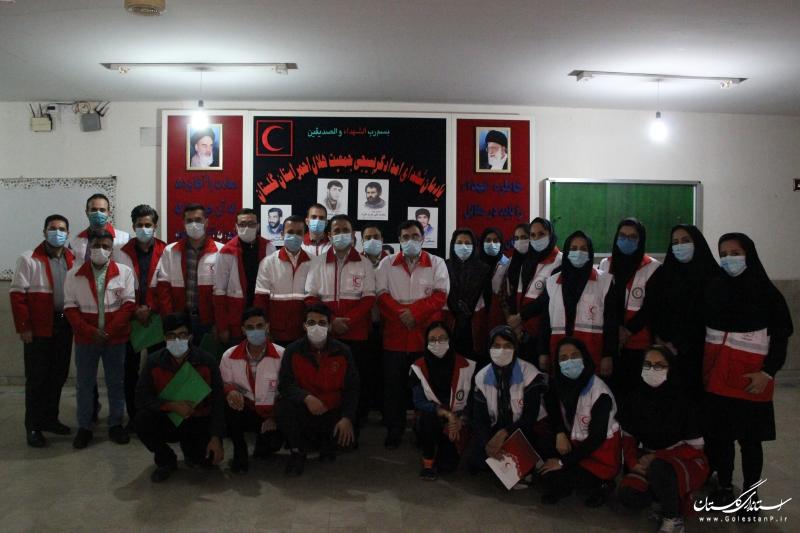 کسب رتبه دوم باشگاه خبرنگاران هلال احمر گلستان در کشور
