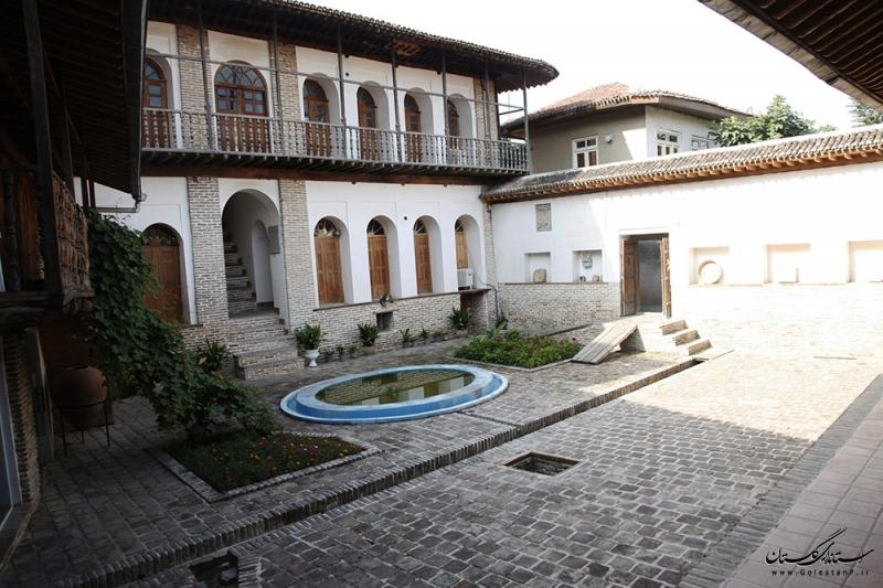 مرمت خانه تاریخی مفیدیان در شهر تاریخی استرآباد (گرگان)