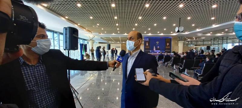 افزایش ظرفیت فرودگاه گام نخست توسعه گلستان است