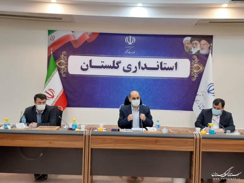 تاکید استاندار گلستان بر انجام فعالیت های بانکی به صورت الکترونیکی توسط مردم