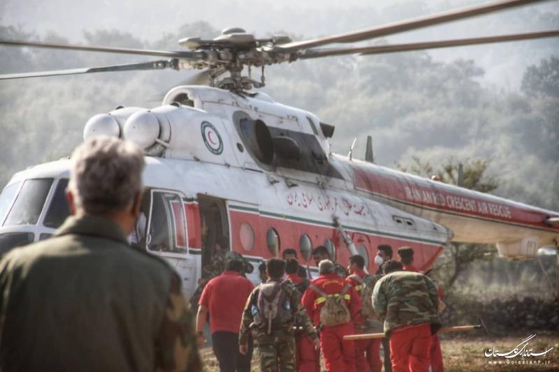 پوشش امدادی 142 حادثه در آبان ماه در گلستان