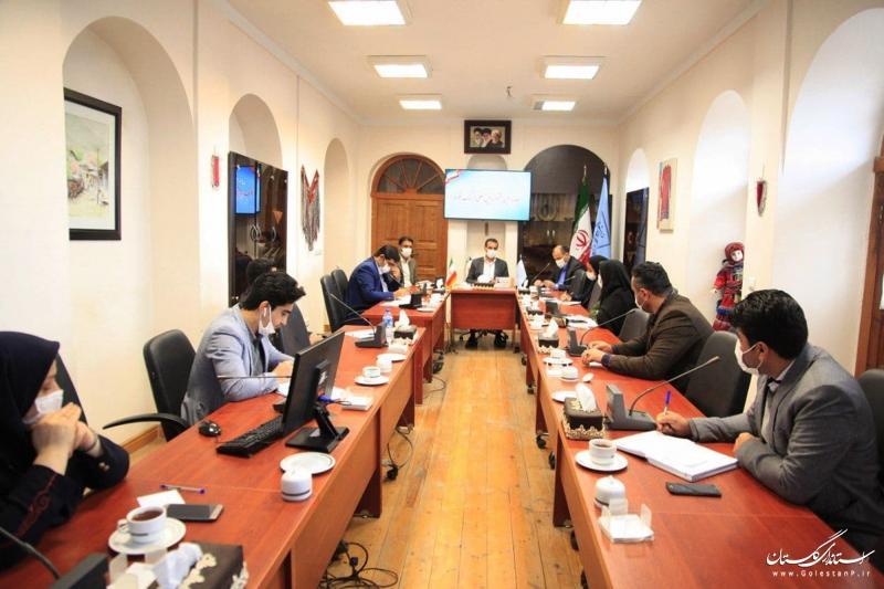 جلسه برنامهریزی برگزاری مجازی جشنواره بینالمللی فرهنگ اقوام در استان گلستان