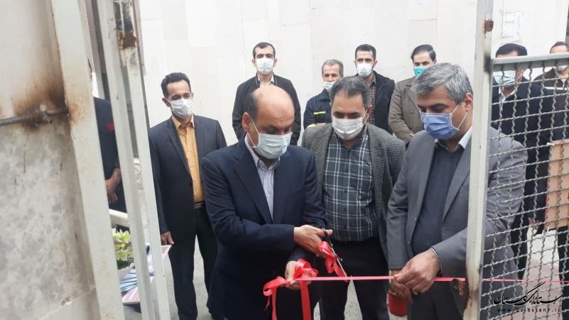 دستگاه سی تی اسکن و مخزن اکسیژن در بیمارستان پنج آذر گرگان افتتاح شد
