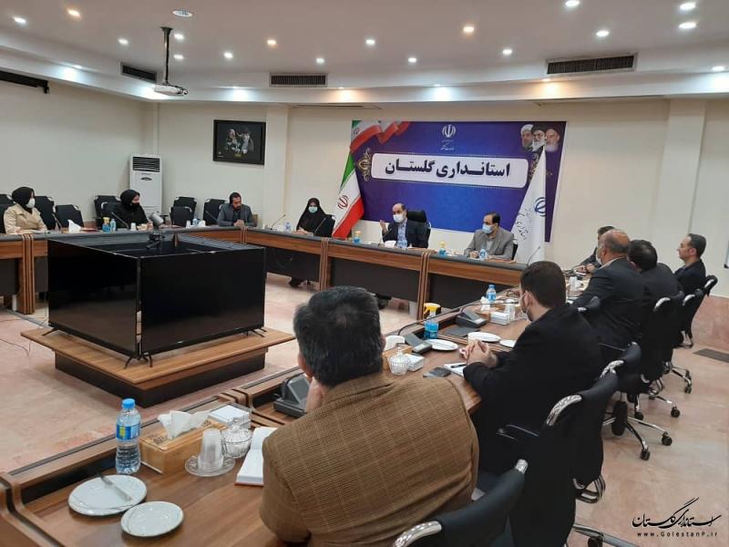 نشست مدیران انجمن های معلولین و توانبخشی با استاندار گلستان