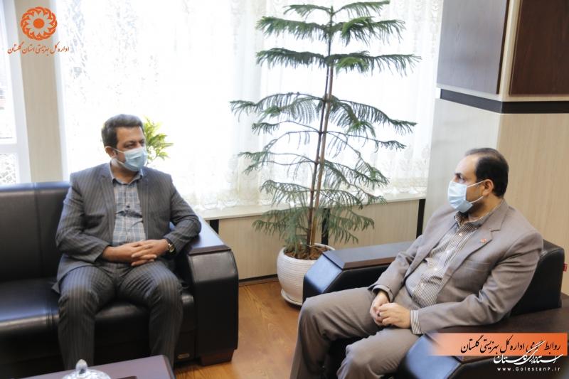 فرماندار بندرگز با مدیرکل بهزیستی گلستان دیدار کرد.