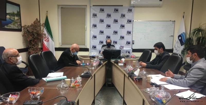 دیدار مدیران شرکت مهندسین مشاور(لار) طراح  وناظر سد چایلی با مدیر عامل شرکت آب منطقه ای گلستان