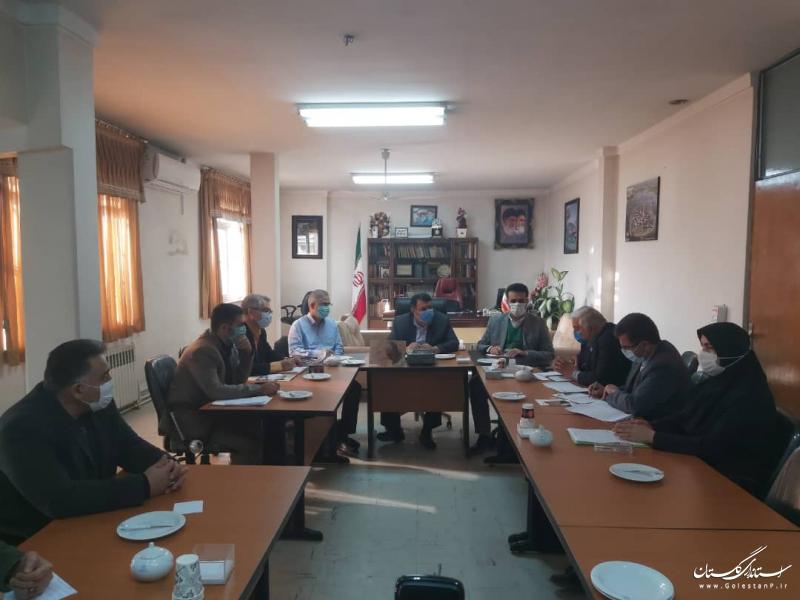 برگزاری جلسه هم اندیشی بخش صنعت معدن و تجارت استان گلستان در فرمانداری کردکوی