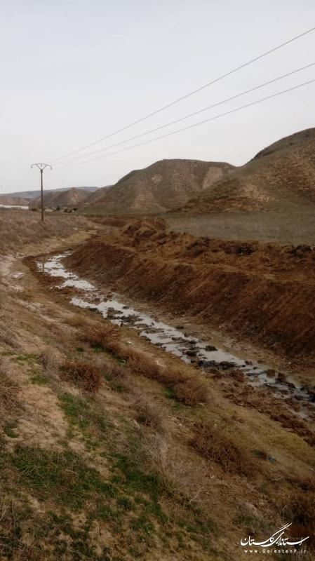 پیشرفت ۸۰ درصدی عملیات لایروبی و ساماندهی بخشی از رودخانه گرگانرود در محدوده شهرستانهای کلاله و مراوه تپه