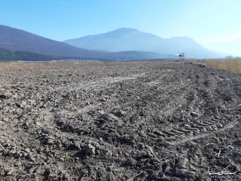 آزادسازی بخشی از حریم رودخانه خرمارود در نوده خاندوز