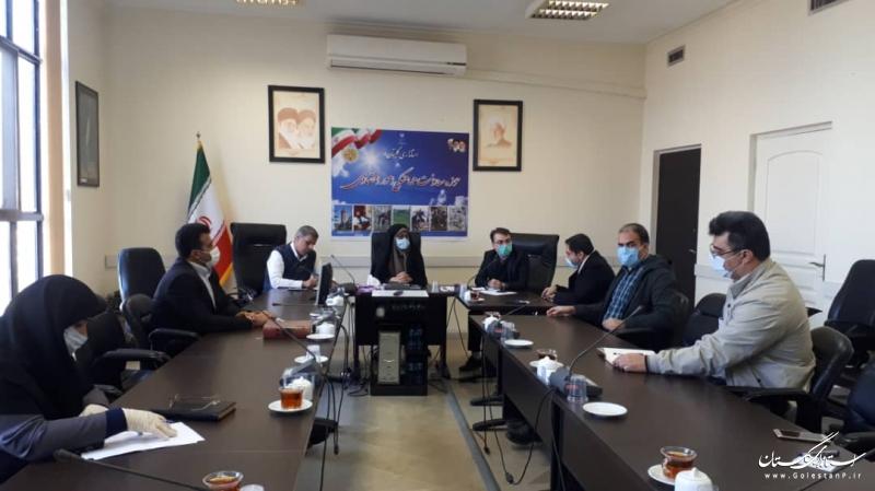 اولین جلسه هم اندیشی پایش ران داشبورد مدیریتی استانداری گلستان برگزار شد