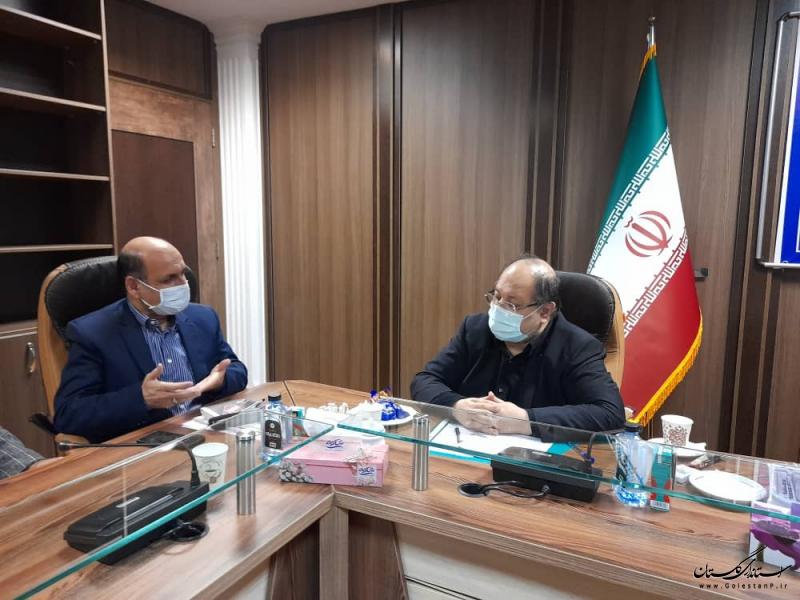 دیدار استاندار گلستان با وزیر تعاون کار و رفاه اجتماعی