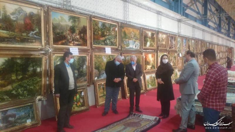 برگزاری سومین نمایشگاه فرش دستباف استان گلستان در گرگان