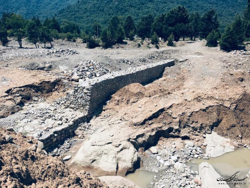 اتمام عملیات مهندسی رودخانه در شهرستان مینودشت به طول 11 کیلومتر در سال جاری