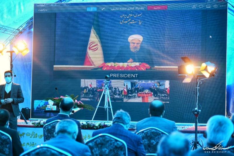 آغاز بهره برداری رسمی از ۳ پروژه بزرگ وزارت جهادکشاورزی با دستور رئیس جمهور