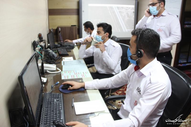 انتخاب مرکز کنترل و هماهنگی عملیات گلستان به عنوان مرکز پایلوت کشوری