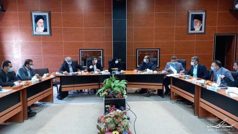 هشتمین جلسه کمیته بودجه و درآمد شهرداری های استان گلستان برگزار شد