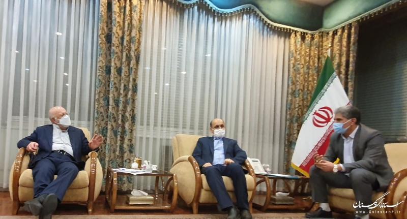 استاندار گلستان با وزیر نفت دیدار و گفتگو کرد