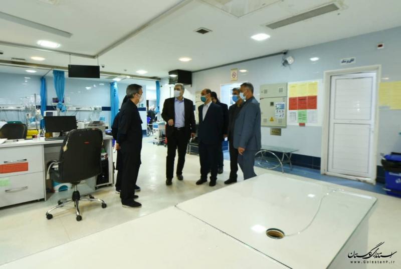 اقدامات مهمی در حوزه درمان شهرستان گنبد انجام شده است