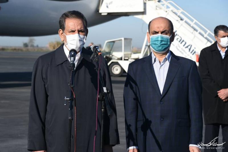 رفع موانع اجرای طرح های توسعه ای گلستان از مهمترین اهداف سفر به این استان است