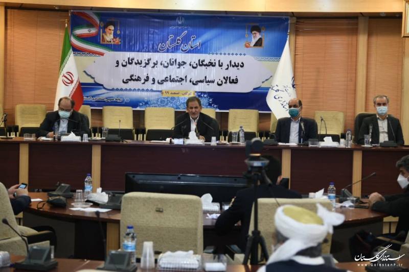 فشار حداکثری علیه ملت ایران شکست خورده است/ گلستان استعدادهای ممتازی دارد و از نیروهای کارآمد برخوردار است