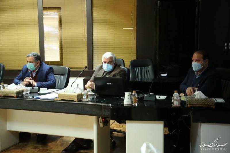 جلسه وزیر صمت با استاندار گلستان و مجمع نمایندگان استان برگزار شد