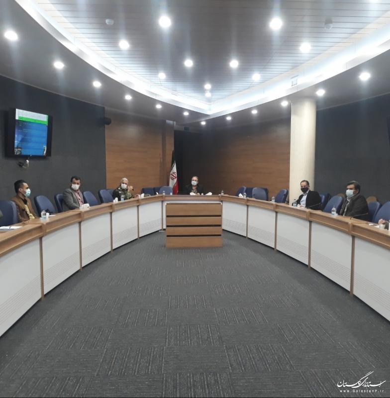 برگزاری جلسه گروه کاری تخصصی مهارت آموزی و اشتغال کارکنان وظیفه در استان