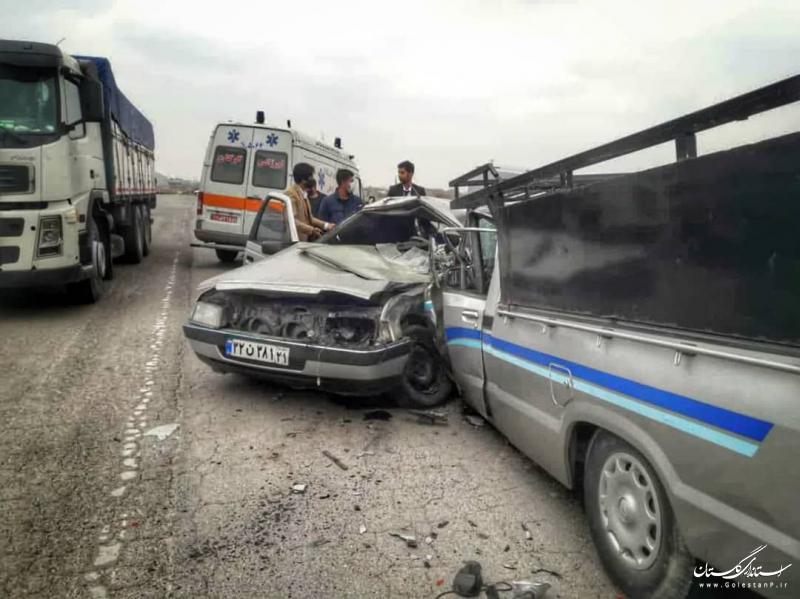 امدادرسانیِ هلال احمر گلستان به بیش از ۱۱ هزار حادثه دیده در سال ۹۹/ تصادفات جاده ای در صدر آمار