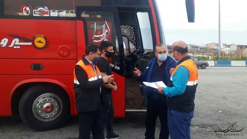 اجرای نظارتهای محسوس و نامحسوس در حوزه حملونقل استان گلستان برای ارائه خدمات شایسته به مسافران نوروزی