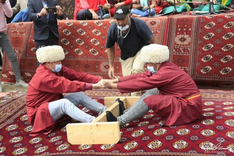 اجرای برنامههای جذاب در جشنواره نوروزی روستای قرانکلی جنگل کلاله