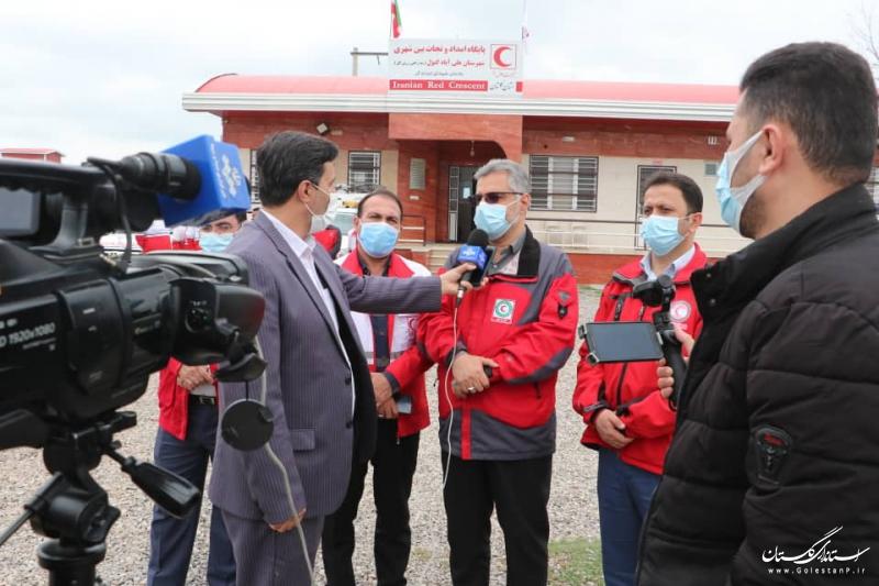 خدمت رسانی به ۴۷۰۰نفر در طرح امداد و نجات نوروزی/ گلستان رتبه سوم عملیات های امدادیِ نوروز ۱۴۰۰