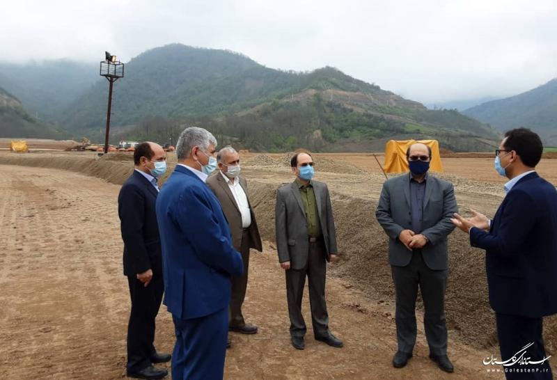 پیشرفت 84 درصدی سد نرماب/ 82 درصد خرید و ساخت تاسیسات هیدرومکانیکال انجام شده است