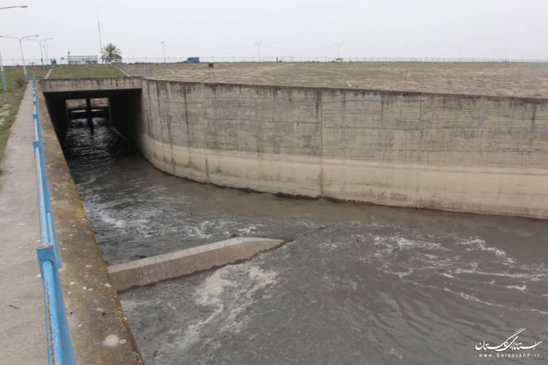 رهاسازی بخشی از آب سد وشمگیر