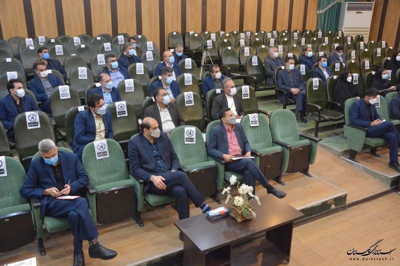 جلسه شورای اداری اداره کل آموزش فنی و حرفه ای استان گلستان برگزار شد