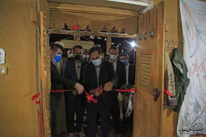 اولین خانه موزه روستایی استان گلستان با عنوان پِرسیان در روستای فارسیان شهرستان آزادشهر افتتاح شد